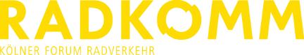 RADKOMM - Kölner Forum Radverkehr