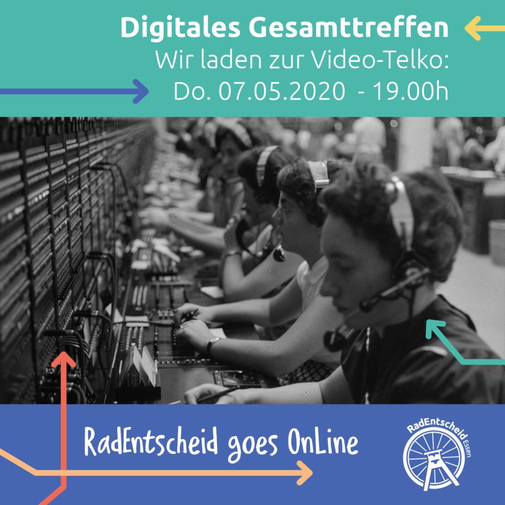Einladung zum 1. digitalen GesamtTeamTreffen (DIGIREEGTT)