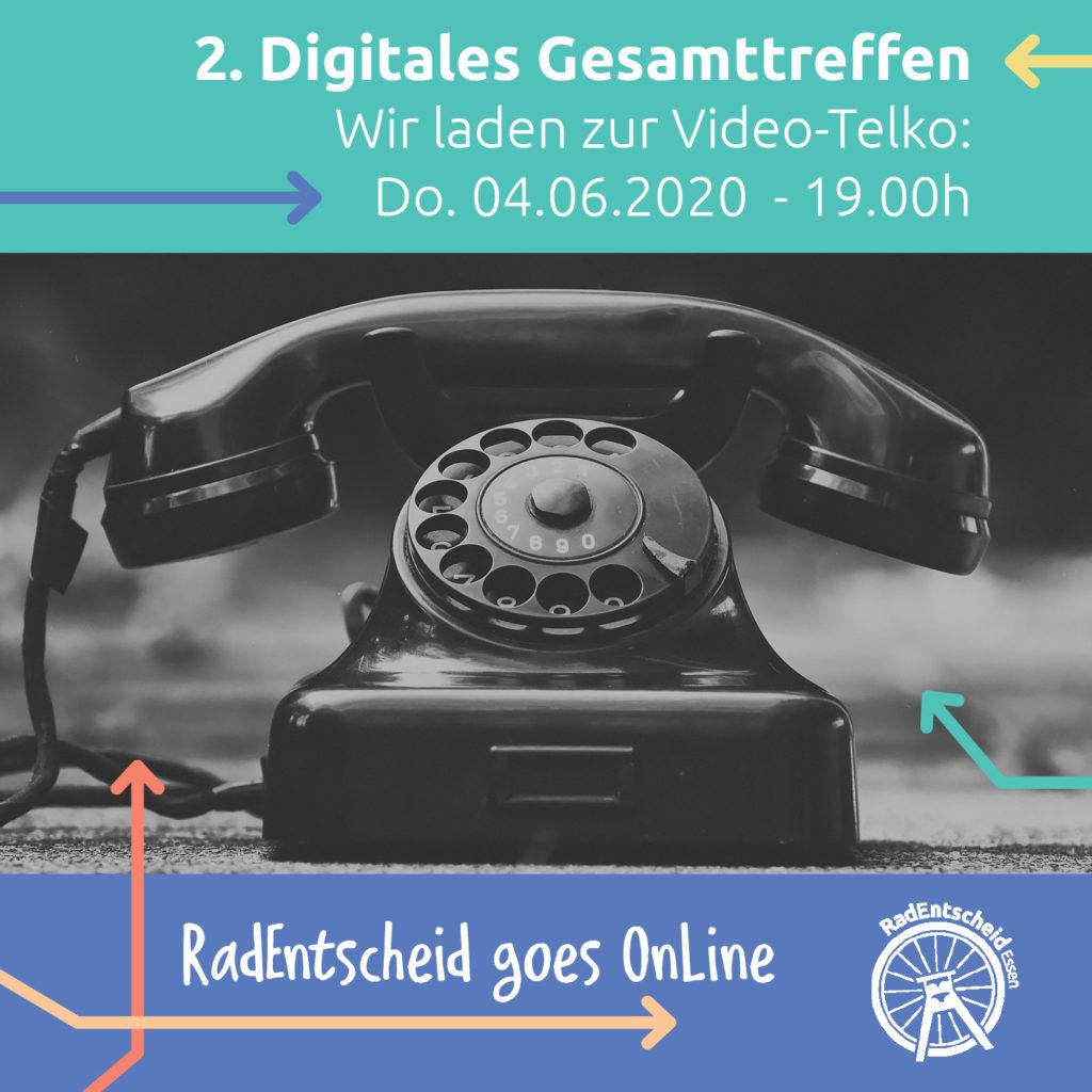 Einladung zum 2. digitalen GesamtTeamTreffen (DIGIREEGTT)