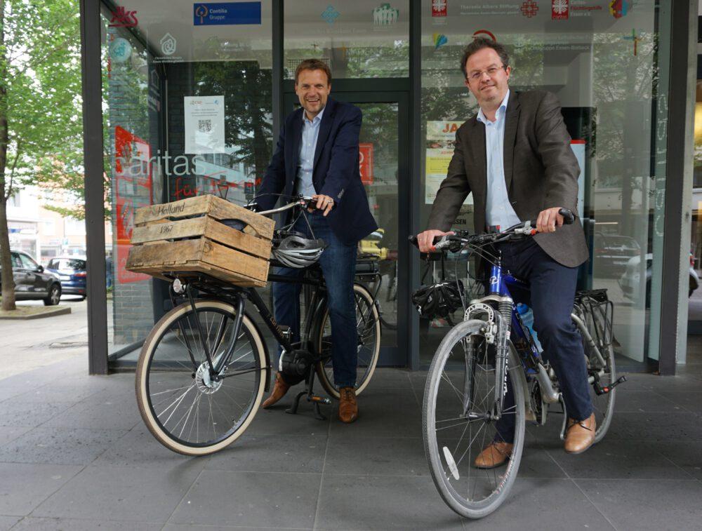 Andreas Bierod und Dr. Björn Enno Hermans