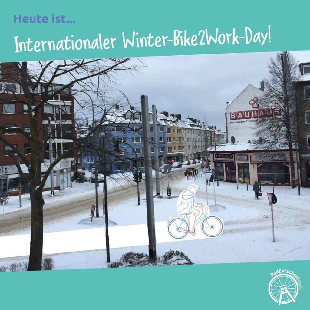 Fröhlichen Winter-Bike2Work-Day